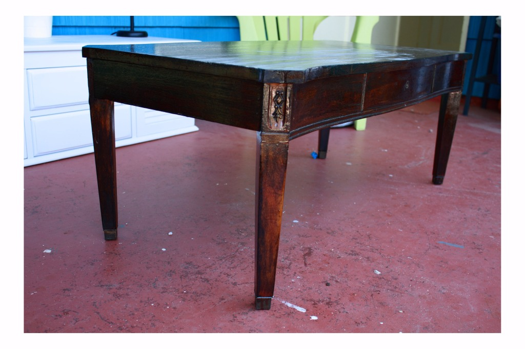 Old Made New: How to refinish a coffee table {Tutorial}